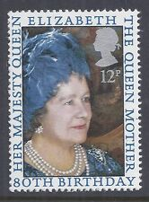1980 GB SG1129 THE QUEEN MOTHER'S 80th BIRTHDAY FINE MINT MNH/MUH 1 STAMP