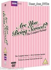 ARE YOU BEING SERVED 1-10 COMPLETE Seasons Series + Specials - NEW DVD UK not US