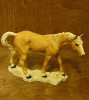"Castagna Horse Figurines #231P PALOMINO MARE, 5"" x 6.75"", Made in Italy, NEW/Box"