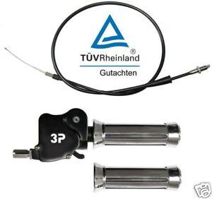 Dual Gas Griff mit  TÜV Gutachten Yamaha