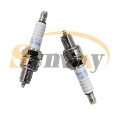 2× Racing Spark Plug For YX125 YX140 YX150 YX160 Pit Bike Replace NGK C7HSA