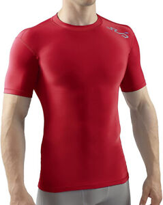 Sub Sports Cold Thermal Compression Baselayer Mens Top - Red