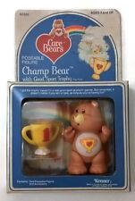 CHAMP Vintage Kenner CARE BEAR Poseable Figure COMPLETE