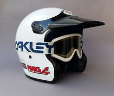 BELL MAG 4 vintage Motocross BMX Helm mit Oakley Brille 80er No Moto 3 RT Moto 4