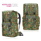 120L Military Tactical Backpack Camping Hiking Outdoor Travel Rucksack Luggage