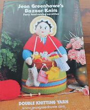 Jean Greenhowe Bazaar Knits. quaranta raccolta fondi novità a maglia in filato DK.