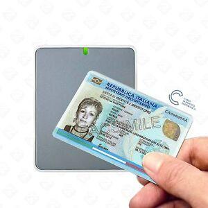 Lettore per Carta d'identità Elettronica CIE con Installazione Automatica USB