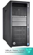 HP Z840 2 x E5-2687W V3 20 CORES 128GB RAM 2 x NVIDIA M4000 1TB HDD+256GB SSD