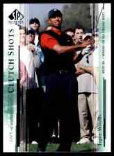 2005 SP AUTHENTIC GOLF TIGER WOODS #58