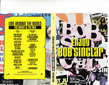 Bob Sinclar-Live Around The World-The Mix & The Movie-2 Disc-DJ.Disc Jockey-DVD