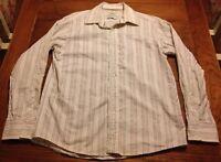 Marc Ecko Men's Medium Shirt Button Up Collar Casual Long Sleeve No. 72 Times Sq