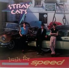 STRAY CATS 'BUILT FOR SPEED' Album Flat Poster Suitable For Framing 1982