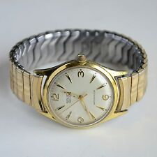 Vintage Gruen Precision 17 jewels Gold Plated Hand Winding Swiss made Mens watch