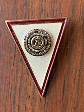 East German Officer Military Academy Badge NVA DDR GDR 1987-90