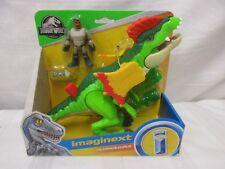 Fisher Price Imaginext NEW Dinosaur Jurassic World Park Dilophosaurus venom toy