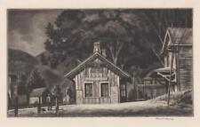 Armin Landeck Drypoint Lot 427