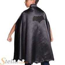 Child Batman Deluxe Cape Superhero Boys Halloween Fancy Dress Costume