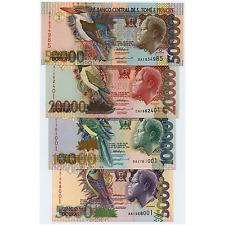 *jcr_m* ST. THOMAS AND PRINCE 5000,10000,20000,50000 DOBRAS 1996 P.65-68 *UNC*