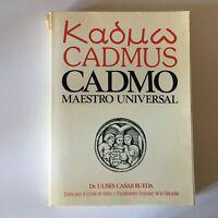 Ulises Casablanca Rueda Cadmo Maestro Universal Me ́ Xico Cempae 1981 E. O