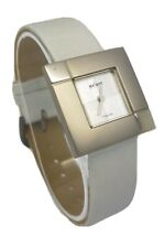 Axcent of Scandinavia Titanium Square Face Grey Strap Ladies Watch X25202-630 A