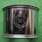 c1930 Original Emmigrant Ship ANCHOR LINE plated Napkin Ring No 36