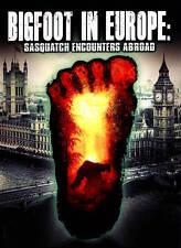 Bigfoot in Europe - Sasquatch Encounters Abroad DVD (2015)