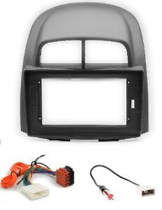 CARAV 22-270-22-4 Autoradio 10´´Radioblende ISO für Daihatsu Sirion SUBARU Justy