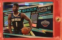 Zion Williamson 2019-20 Panini Revolution Shock Wave-CUBIC ROOKIE Ser #8/50 RARE
