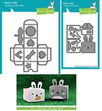 Lawn Fawn - TINY GIFT BOX Die LF1485 and BUNNY ADD-ON Die LF1610 -- Cute Easter