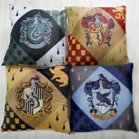 Harry Potter Gryffindor Hufflepuff College Badge Print Cushion Plush Doll Pillow