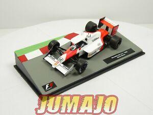 FOR8 voiture eaglemoss 1/43 F1 Formule 1: McLaren MP4/4 A.SENNA 1988