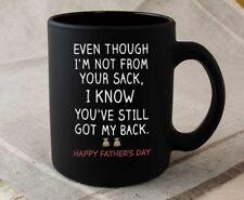 Padre aunque no Day desde su saco I AM que tiene atrás taza de café My Still