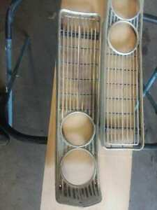 ORIGINAL 1968 68 FORD GALAXIE 500 LEFT RIGHT PAIR GRILL
