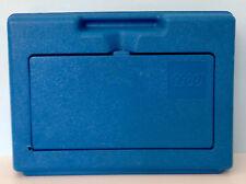 "Vintage 1983 Blue LEGO Plastic Storage Box/Bin/Carrying Case 13""x9""x3"""