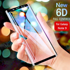 Tempered Glass Screen Protector 9H For Samsung Galaxy Note 9 Edge Full Curved 3D