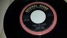 """JOHNNY COLE War, No More / Love Of Diane ORIGINAL SOUND 24 RARE ROCK 45 VINYL 7"""""""