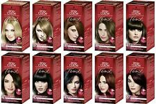 Pack of 3 SCHWARZKOPF POLY COLOR PERMANENT CREAM COLOUR TINT HAIR COLOUR DYE.