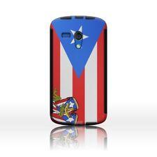 Dual Layer Puerto Rico Flag Hybrid Case Cover for Motorola Moto G LTE (1st Gen)