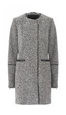 Storm & Marie BONN-JA Grey Textured Coat Size S/36 *VGC*