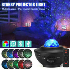 Galaxy Star Lamp LED Starry Night Light Ocean Wave Laser Projector With Music