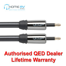QED Performance Optical Mini to Mini Toslink Graphite Audio Cable 3m - QE7203