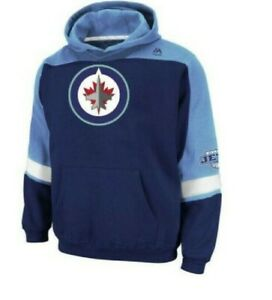 NHL Winnipeg Jets Stitched Hoodie Youth Sizes NEW