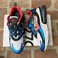 Nike Air Max 270 React Time Capsule Pack Red Black Blue CT1616 400 Size 10-11 NW