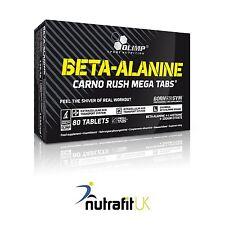 OLIMP BETA - ALANINE CARNO RUSH 80 MEGA TABS amino acid formula vitamin B6