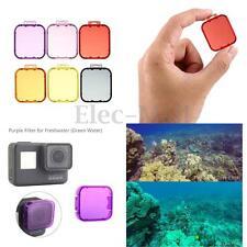 Underwater HD Sea Diving UV Filter Lens Cover Cap For GoPro Hero5 Sport Camera