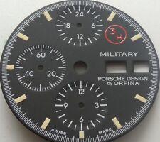 Orfina Porsche design 3H Military chronograph LEMANIA 5100 super Luminar