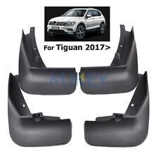 Mud Flaps Splash Guards Fender Mudguards For All New VW Tiguan 2017 2018 2019