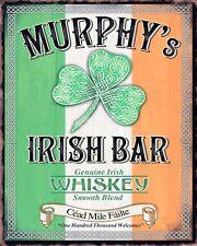 MURPHY'S IRISH BAR DUBLIN IRELAND IRISH WHISKEY GUINNESS METAL SIGN PLAQUE 1000