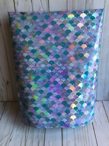 Mermaid Scale Wrapping Paper 48 inches (4 feet) x 30 inches Holographic Foil