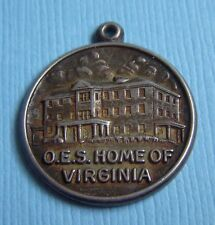 Vintage O.E.S. Home of Virginia Eastern Star sterling charm